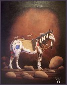 McDonald Indian Horse acrylic